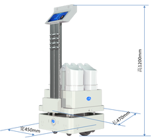 Load image into Gallery viewer, High Power UV Disinfection Robot for Hospital