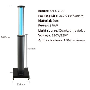 WHOLESALE 500PCS - UV LIGHT COMMERCIAL TROLLEY
