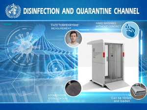 WHOLESALE - 100 PCS - Disinfecting Tunnel Cabin Door Channel