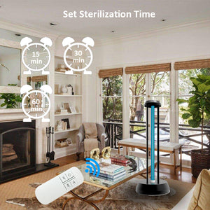 Remote Control Ozone  UV Light  Disinfection