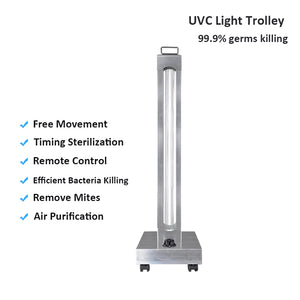 WHOLESALE 1,000 PCS - Portable UVC Lamp 150W Sterilizer