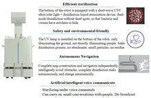 Load image into Gallery viewer, Robot Bacteria Killing Disinfection For Public - UV Sterilizer