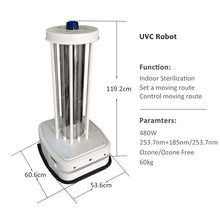 Load image into Gallery viewer, WHOLESALE 50 PCS - CE RoHS Disinfecting Speed Routes - Area Sterilizer UVC  Robot