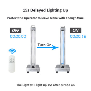 UVC Portable Quartz Sterilizer Lamp