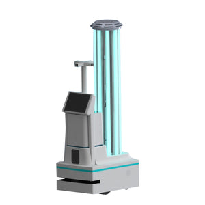 Intelligent Ultraviolet with Spray Disinfection Robot UV Ozone