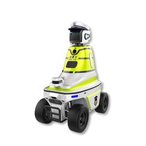 Outdoor Infrared Temperature Measurement Intelligent Patrol Robot 5G Patrolling