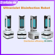 Load image into Gallery viewer, Ultraviolet Disinfection Robot Intelligent Elimination Rate 99.99%