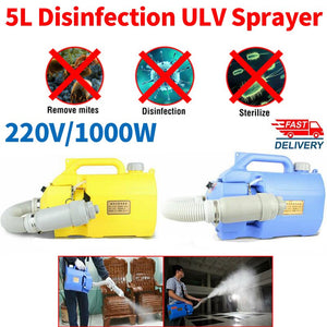 5L Electric  Disinfection Machine Hand-held Atomizer - Electric ULV Fogger