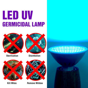 WHOLESALE 1000 PCS -E27 LED UV Sterilizer Lamp Bactericidal Bulb -Ozone Light