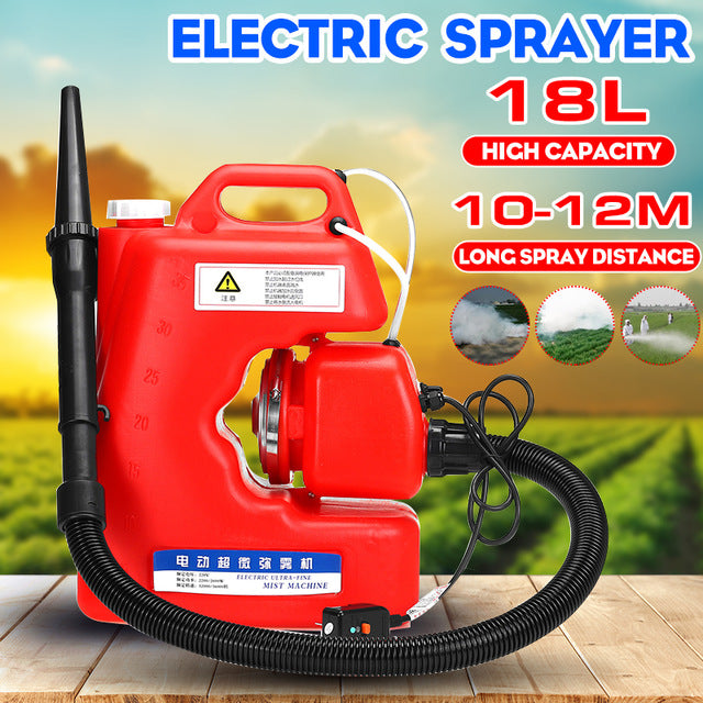 220V 16L Electric ULV Fogger Sprayer Disinfection Machine
