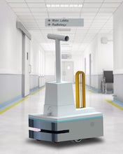 Load image into Gallery viewer, Intelligent Spray Disinfection UV Anti-Epidemic Robot