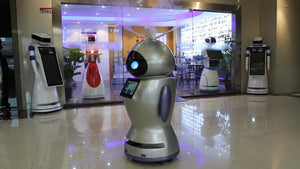 Intelligent Disinfection Robot - Hospital,School Shopping ETC.