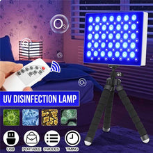 Load image into Gallery viewer, 60W Portable LED UV Disinfection Lamp with 2.4G Remote Controller Timing