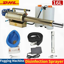 Load image into Gallery viewer, Portable Thermal Fogger Disinfection Fogging Machine - ULV Sprayer 16L