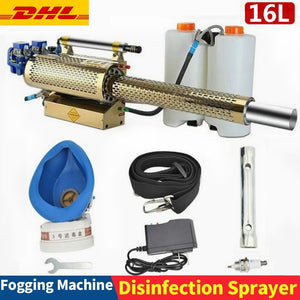 Portable Thermal Fogger Disinfection Fogging Machine - ULV Sprayer 16L