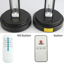 Load image into Gallery viewer, Double Tube UV Disinfection Lamp Sterization - Remote Control Timer Air Ozone