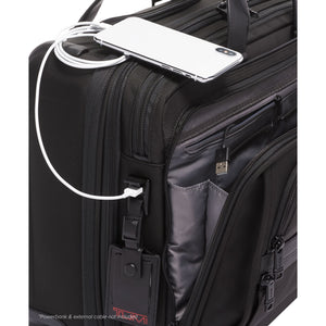 Deluxe 4 Wheeled Laptop Case Brief