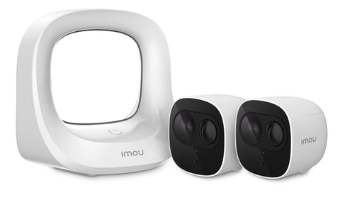 Imou Cell Pro (1HUB + 2 Cameras) IP security camera Outdoor Ceiling/Wall