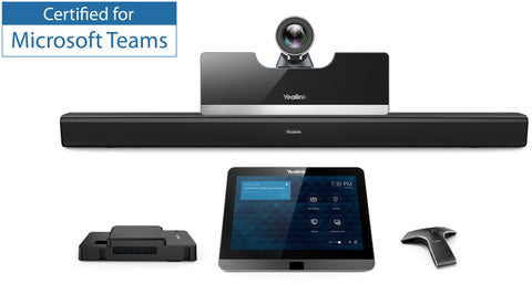Yealink MVC500 Video Conferencing Solution with Wired Microphones