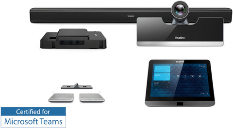 Yealink MVC500 Video Conferencing Solution with Wireless Microphones