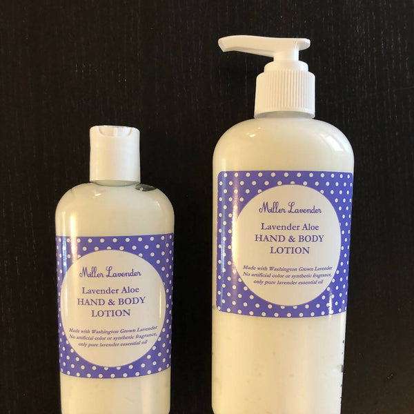 Lavender or Lemon Lavender Aloe Lotion