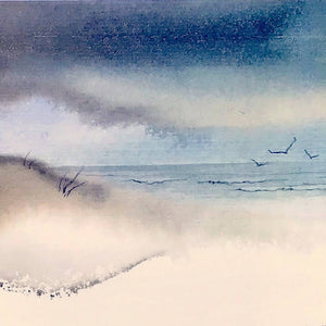 """Sea Breeze, 1"" -- print"