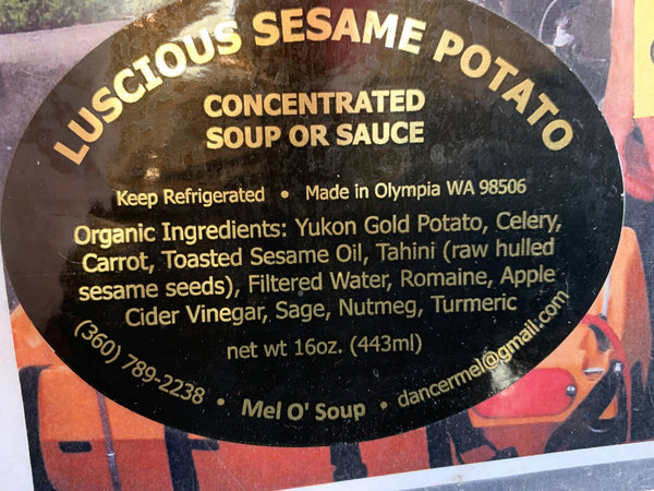 Lucious Sesame Potato (16 oz.)
