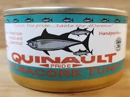 Canned Quinault Albacore Tuna