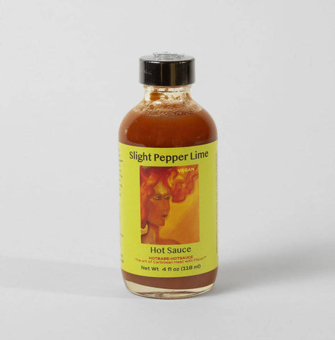 Slight Pepper Lime HotBabe-HotSauce (previously our medium)