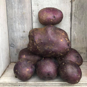 Organic Potatoes - Huckleberry Gold - 1 lb