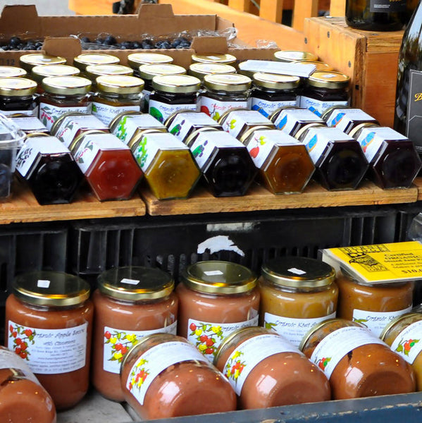 Certified Organic Jams & Sauces