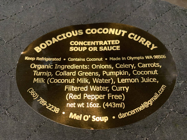 Bodacious Coconut Curry (16 oz.)