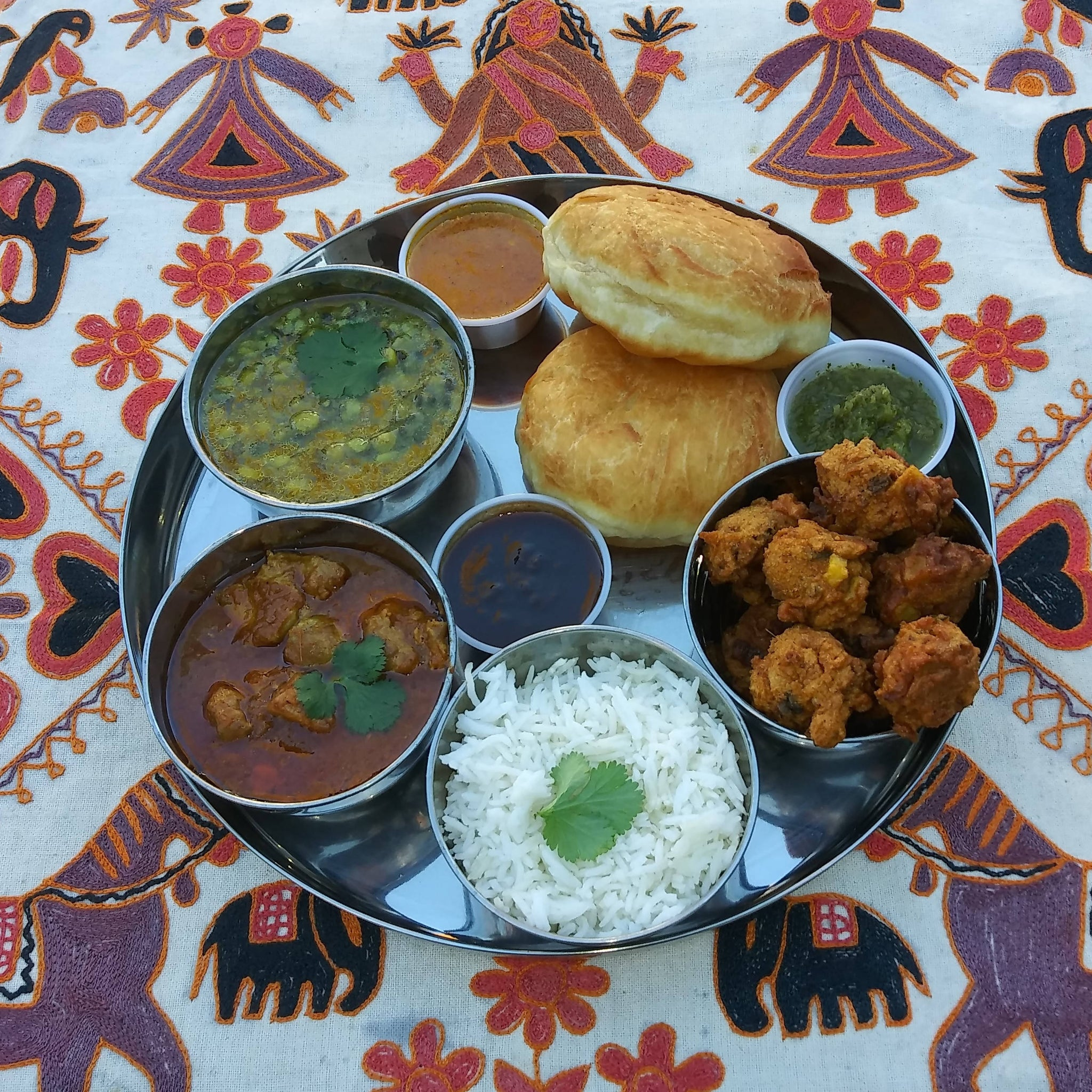 Thali for Two