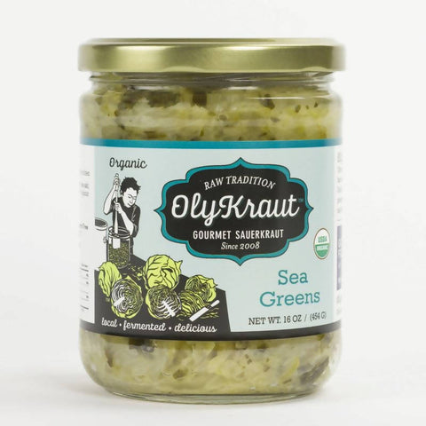 Organic Sea Greens Sauerkraut