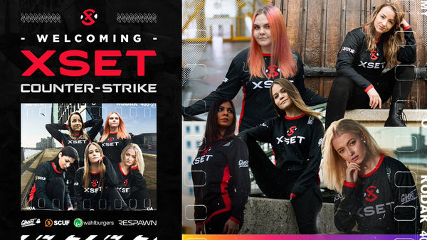 XSET enters the CSGO with an all-female championship winning squad!