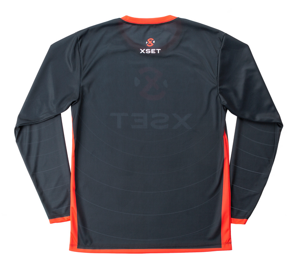 The Official XSET Jersey - First Edition in Black - Back View