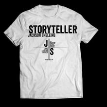 Load image into Gallery viewer, Story Teller White T shirt (unisex)