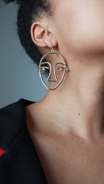 Big Face Earrings