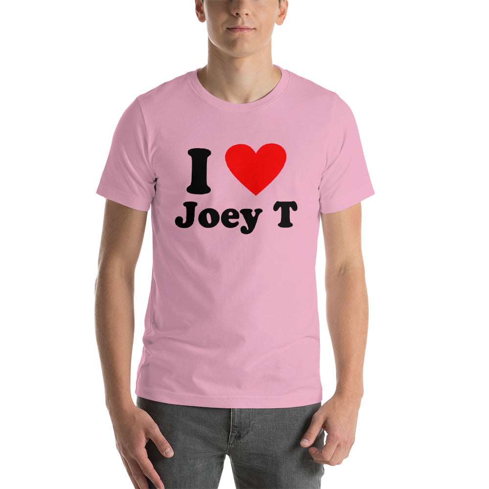 I Love Joey T Short-Sleeve Unisex T-Shirt