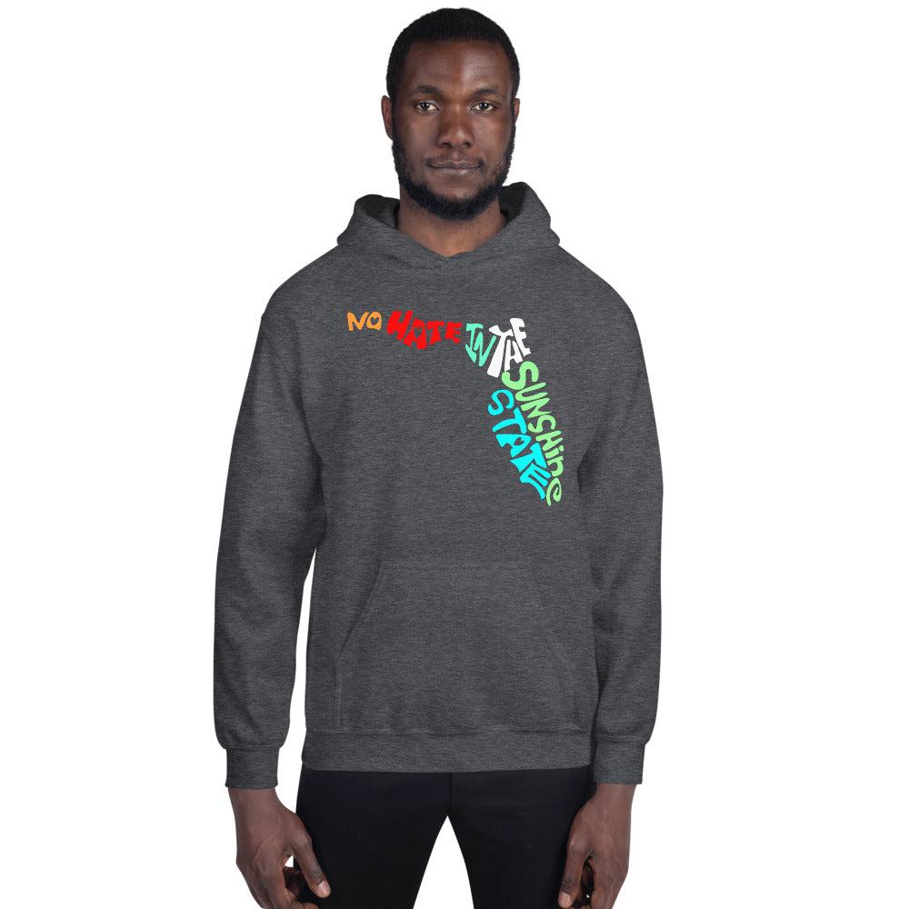 No Hate In The Sunshine State Unisex Hoodie