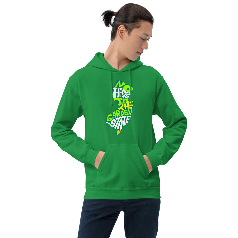 No Hate In The Garden State Unisex Hoodie