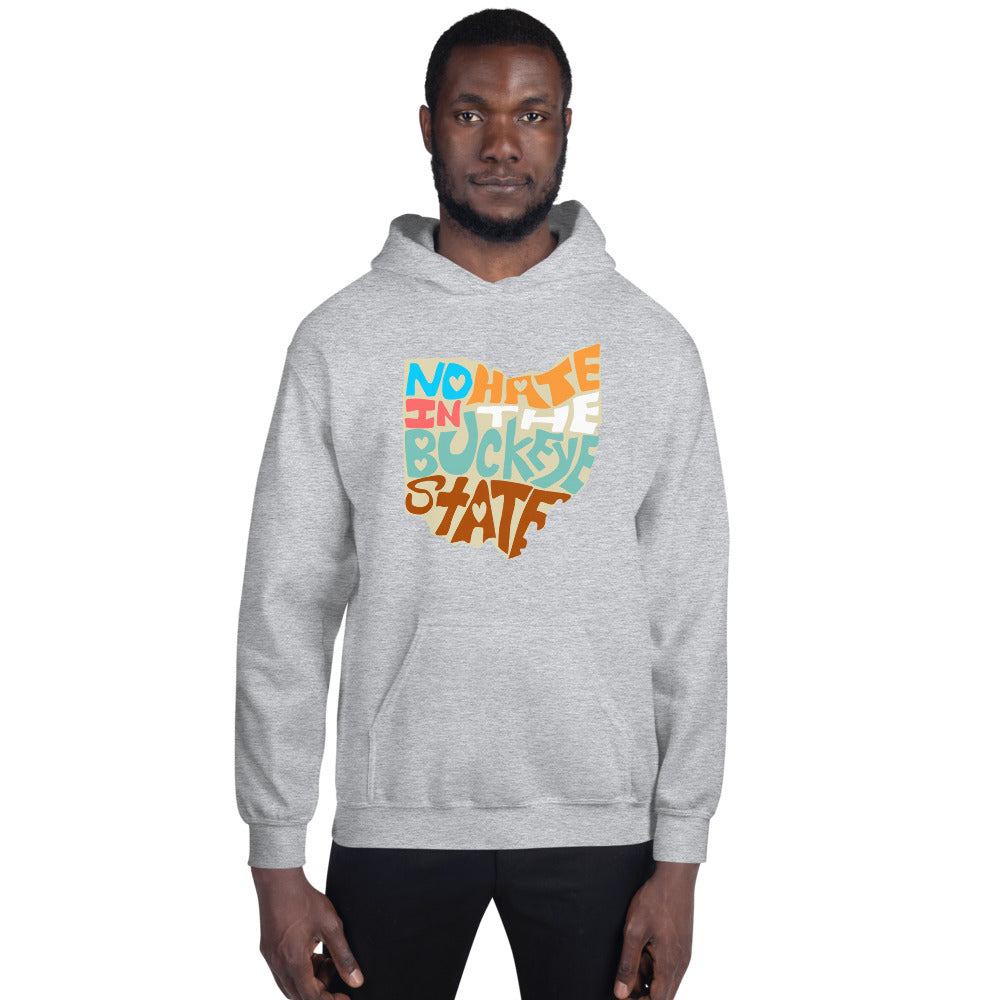No Hate In The Buckeye State Unisex Hoodie