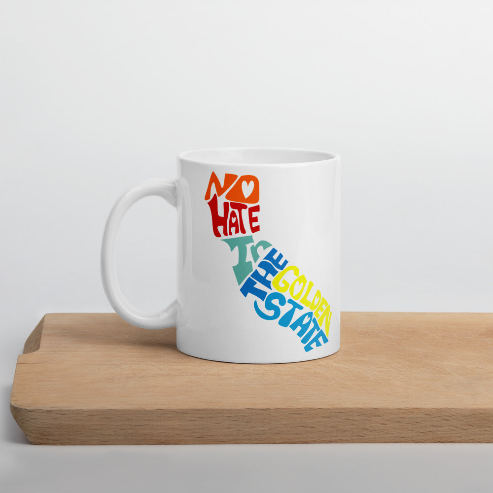 No Hate In The Golden State Mug