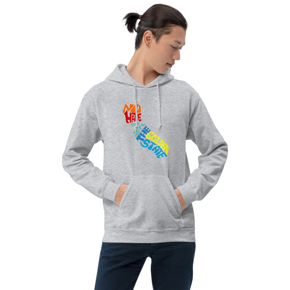 No Hate In The Golden State Unisex Hoodie