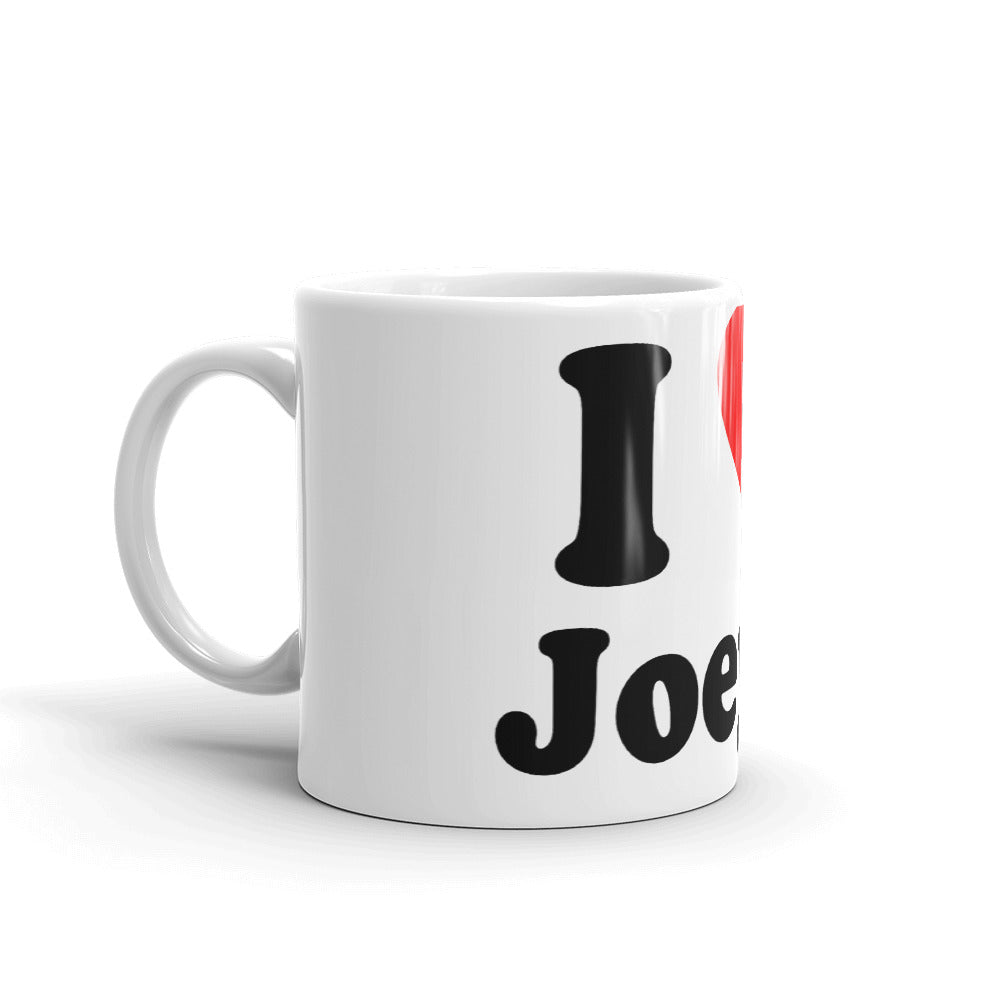 I Love Joey T Coffee Mug