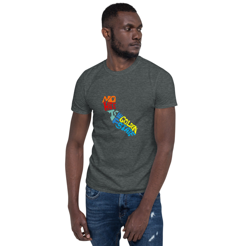 No Hate In The Golden State Short-Sleeve Unisex T-Shirt