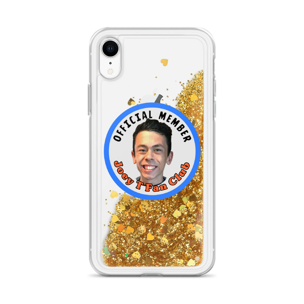 Joey T Fan Club Liquid Glitter Phone Case