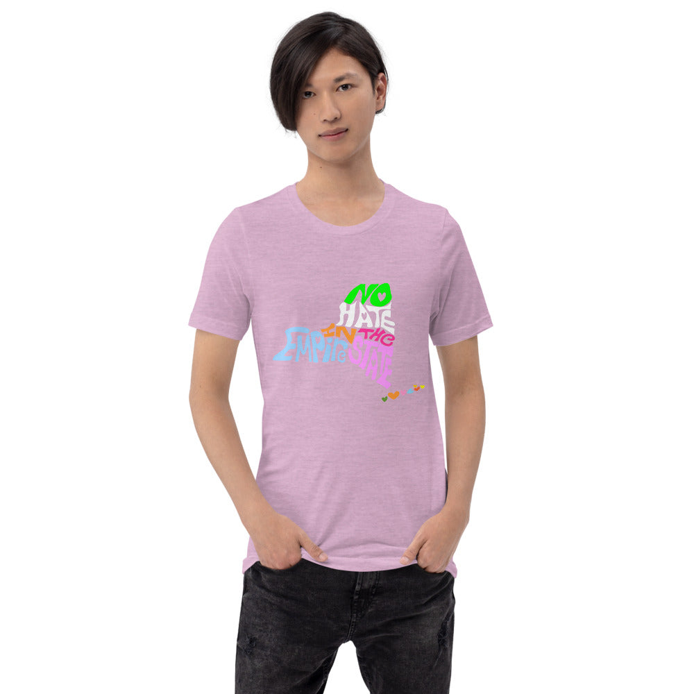 No Hate In The Empire State Short-Sleeve Unisex T-Shirt