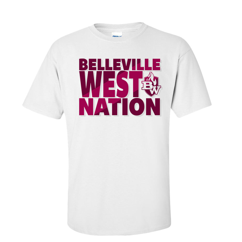 Belleville West Nation Tee