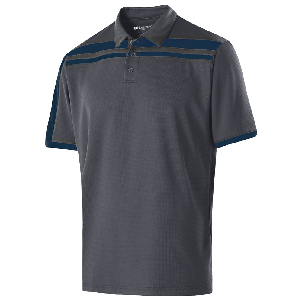 Black Charge Polo